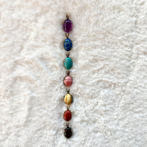 7 Chakra Pendant Balancing Set