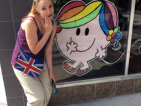 Little Miss Hug in the West End