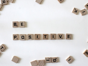 Don't just think positive, be positive