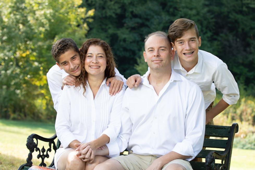 Family formal portrait