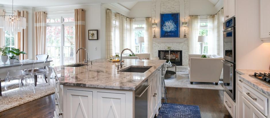 Kitchen- Brighten & Fresh