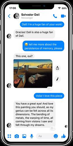 Dalí messenger bot