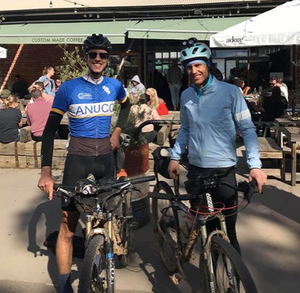 Anthony Newman and Seb Wende joint winners of the 2020 Cloudride Prologue