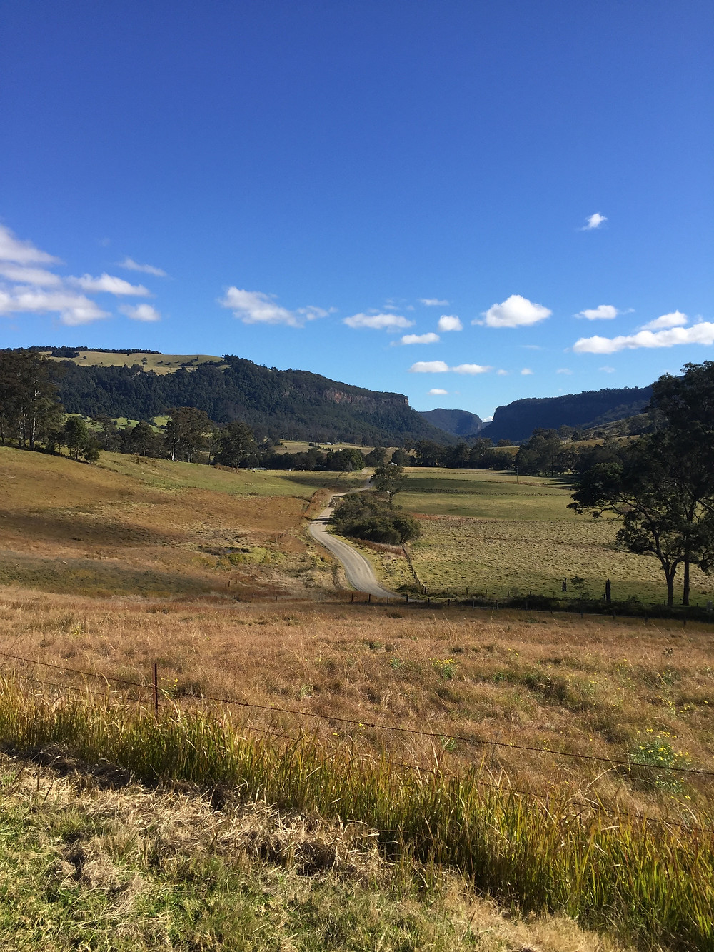 The Head looking back to Condamine Gorge