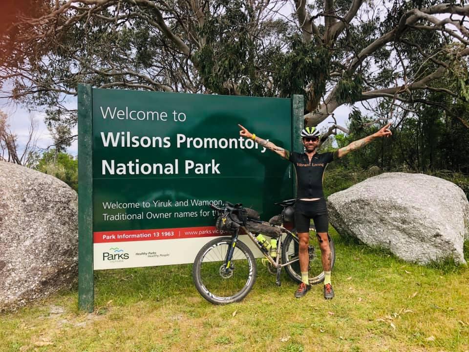 Terra Australis first rider home....