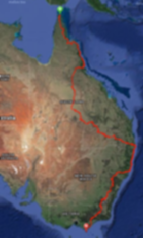 An epic bike race from the top of Australia to the bottom. 6,500 kilometres