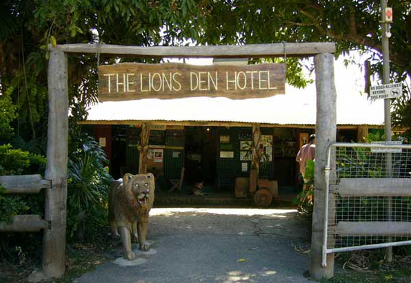 Enter the Lion's Den....