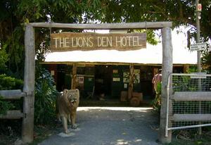 Enter the Lion's Den....