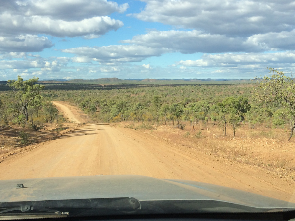 Heading south on Bolwarra Road out of Chillagoe