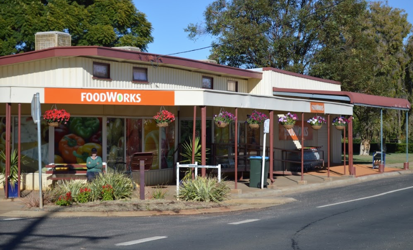 Foodworks, well stocked if you catch the opening hours.