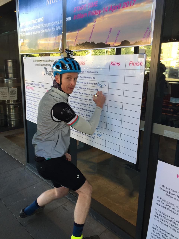 Matt Turner's 2017 Cloudride race report