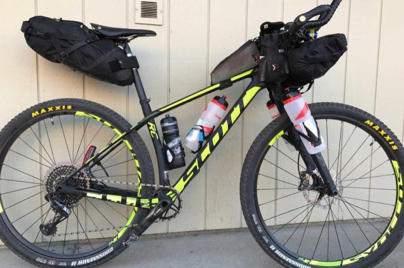 Dane Roberts TD18 Bikepacking rig. Courtesy Bikepacker.com