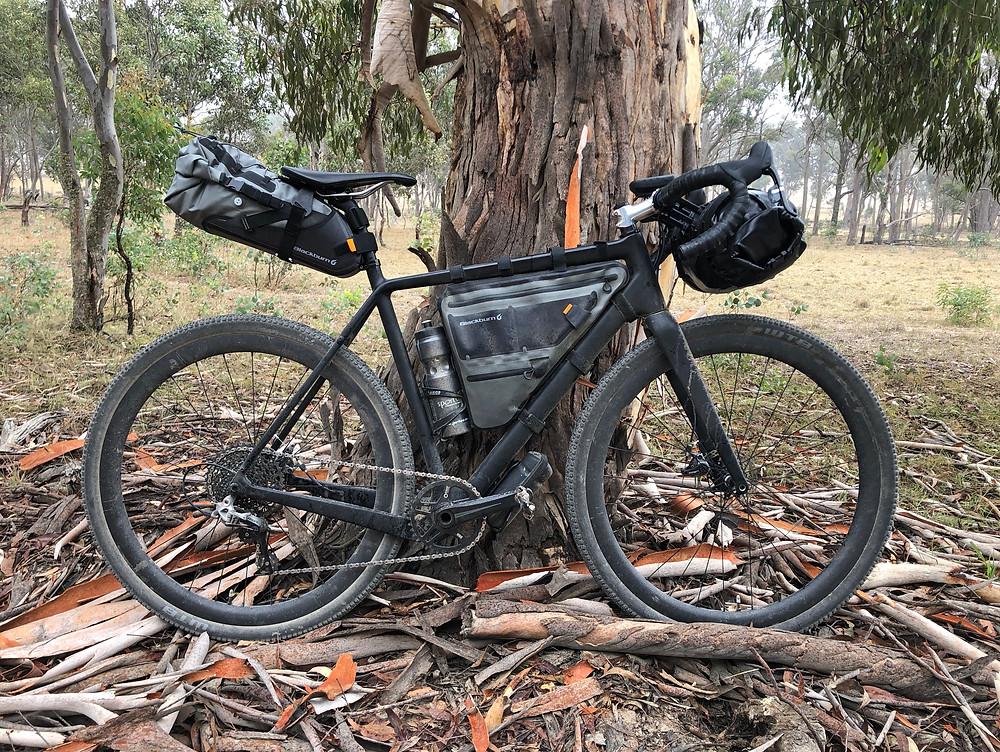 David Waugh's 2019 Terra Australis race bike.