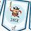 Thumbnail: PERSONALISED Pirate Happy Birthday Bunting