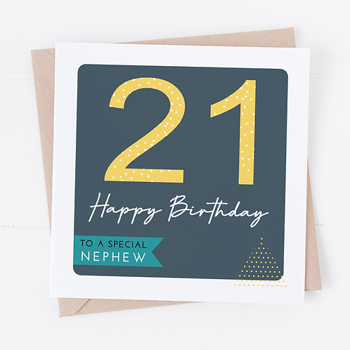 Abstract Birthday Card - Any Age or Role