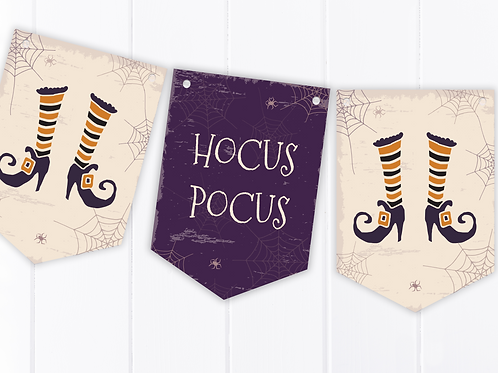 Hocus Pocus Halloween Party Bunting