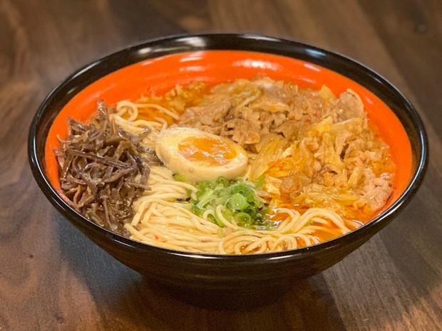 Kimchi Beef Ramen