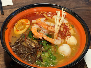 Seafood Ramen (Regular or Spicy)