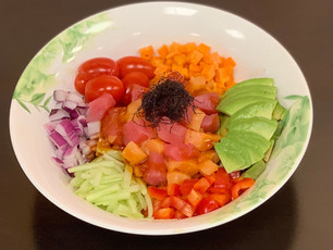 Sashimi Poke Bowl