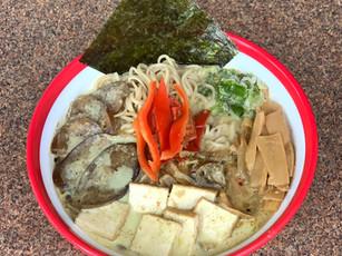 Vegan Coconut Green Curry Ramen