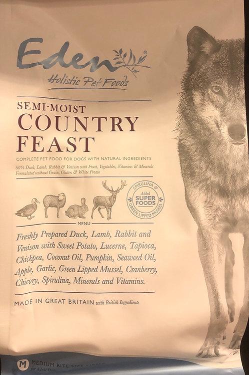 Eden petfood country feast semi moist