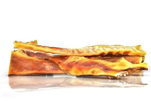 Tørret oksehud ekstra hard 30 cm stænger