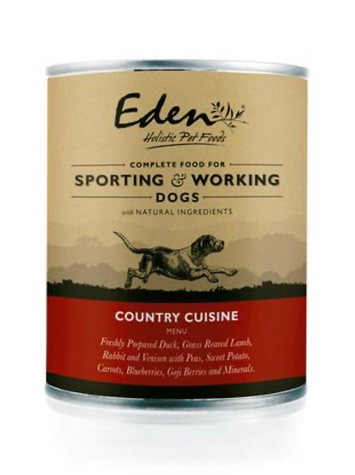 Eden pet food , country cuisine