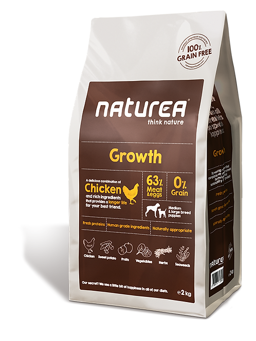 Naturea Grainfree Growth kylling (hvalp)