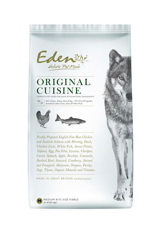 Eden pet food , original cuisine (small kibble)