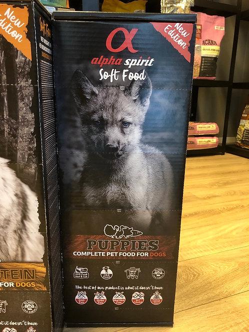 Alpha spirit puppy semi moist