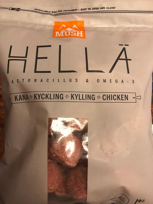 Mush Hella kylling