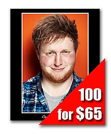 100 Headshot Prints for $60