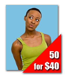 50 Headshot Prints for $40