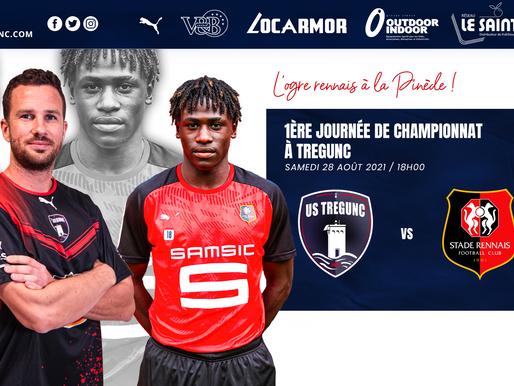 1ère journée de championnat le samedi 28 août 2021 contre le Stade Rennais B à la Pinède !
