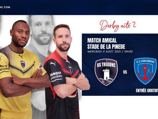 3ème match amical pour l'équipe première à la Pinède