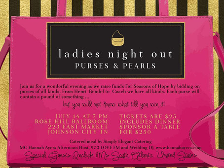 Purses & Pearls: Ladies Night Out