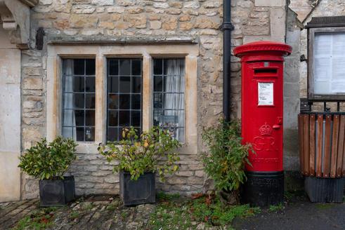 12 - Cottage & Post Box
