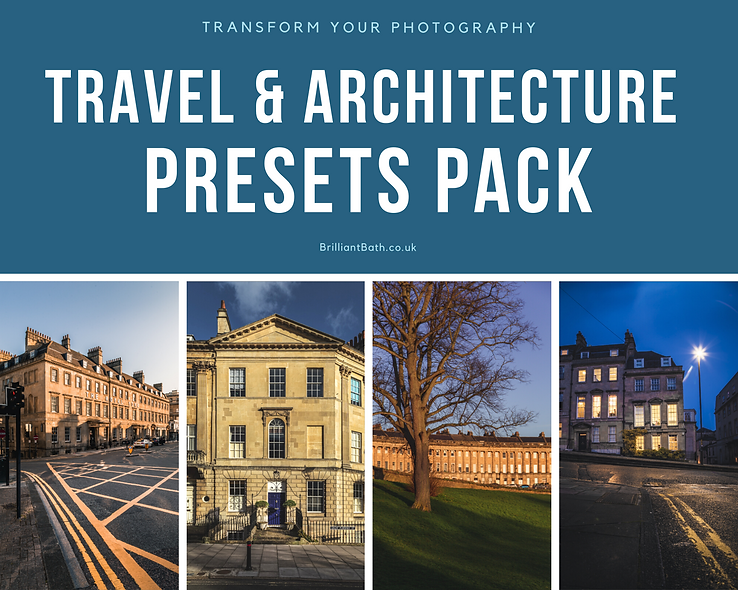 Travel & Architecture Preset Pack