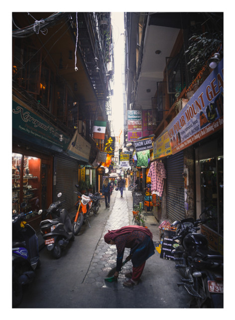 03 Thamel Streets - Nepal - Casper Farrell photography