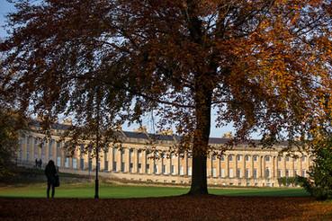 07 The Royal Crescent in Autumn, Bath