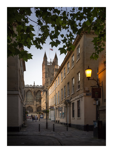 View to Abbey - Bath - August 2019 - Cas