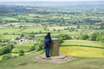 Coaley Peak Viewpoint - South Gloucester