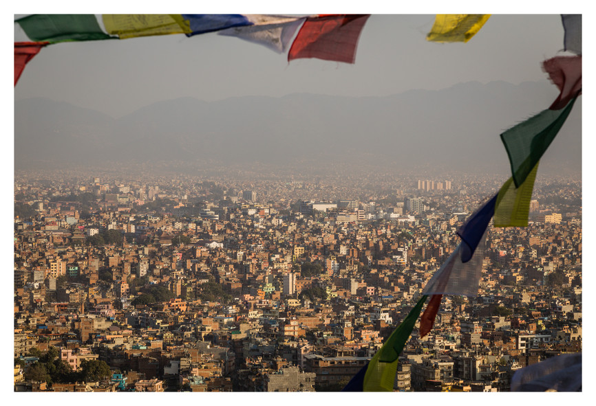 Downtown Kathmandu - Nepal - November 20
