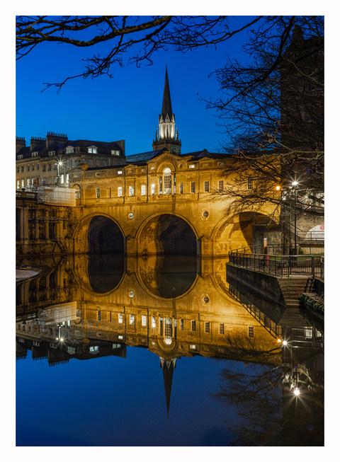 Pulteney Bridge Night - Bath - February