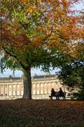 03 The Royal Crescent in Autumn, Bath UK