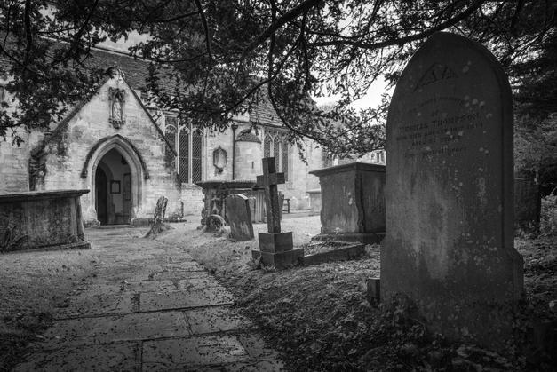 23 - St Andrew's graveyard