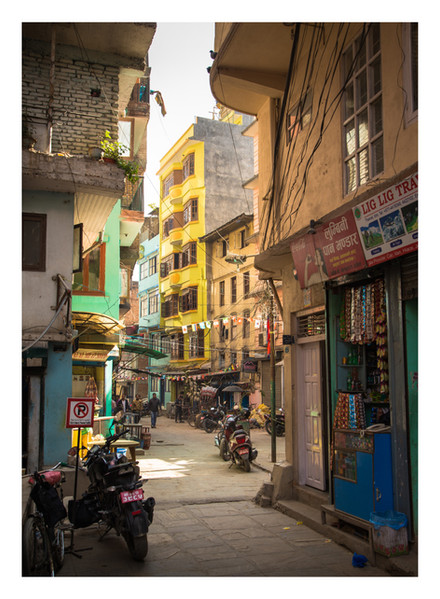 02 New - Thamel Streets - Nepal - Novemb