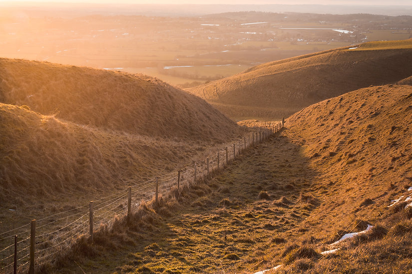 Roundway Hill - Wiltshire - February 201