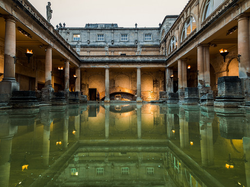 The Magic of Torchlight - Summer Evenings at The Roman Baths
