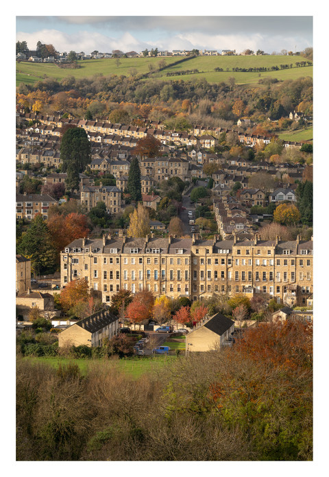 Autumn View to Larkhall & London Rd - Ba